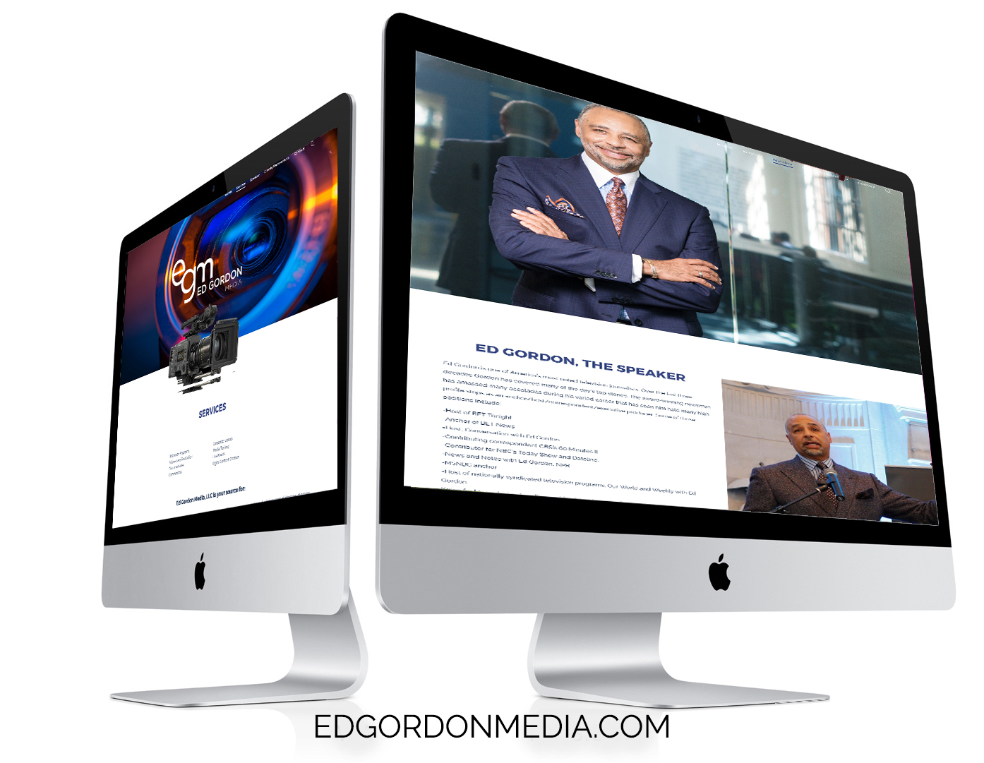 Ed Gordon Media_website
