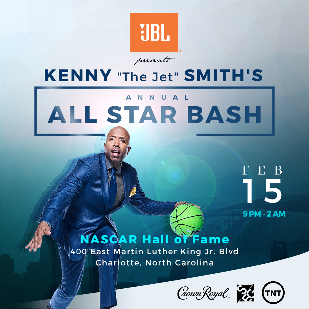 Kenny Smith All Star Wknd flyer