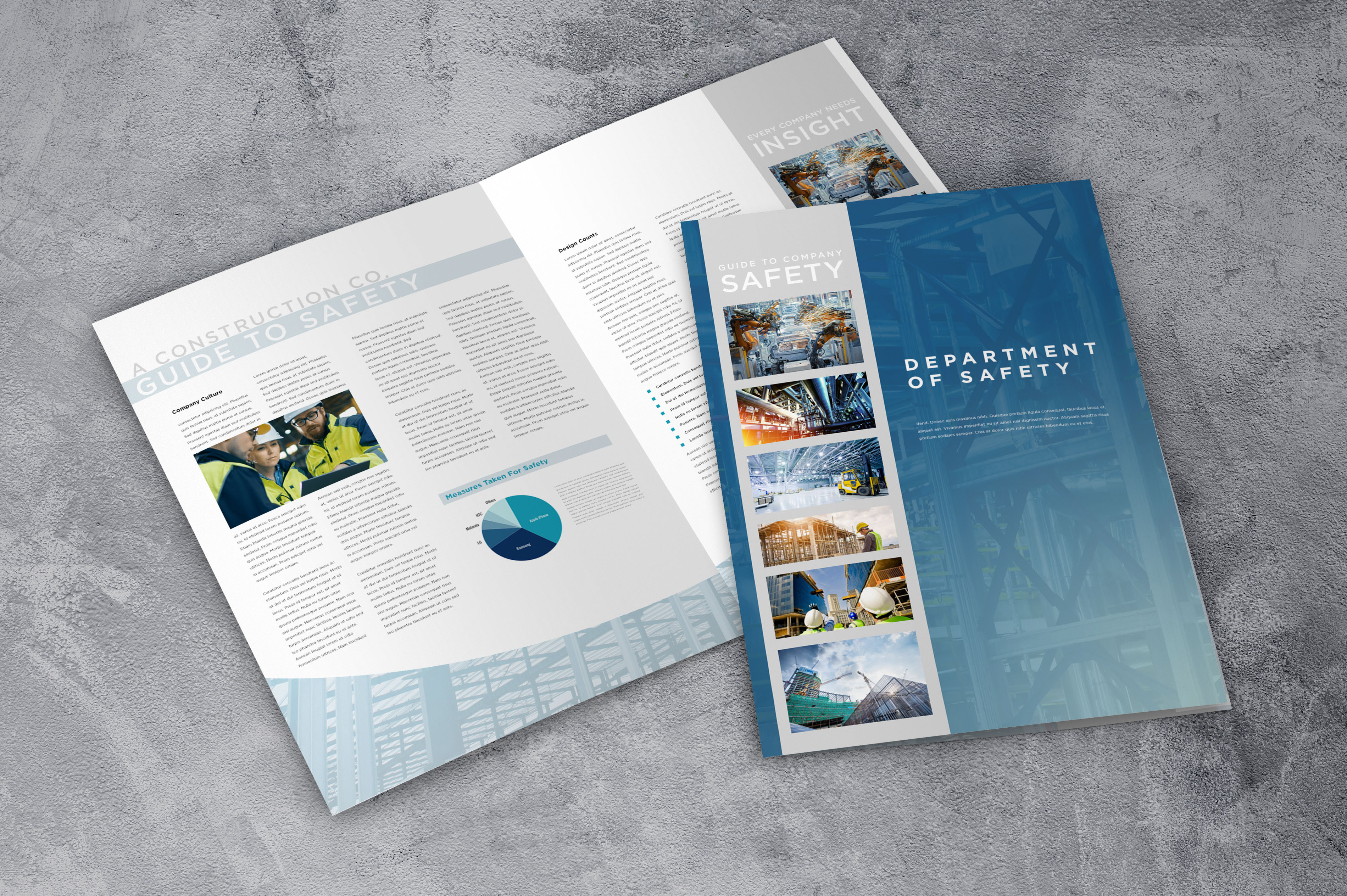 Construction brochure design